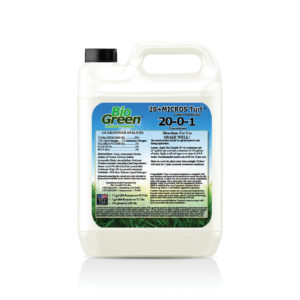Bio Green® 20+MICROS Turf™ Lawn 20-0-1 Fertilizer