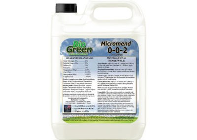 Bio Green®  Micromend™ 0-0-2 Fertilizer