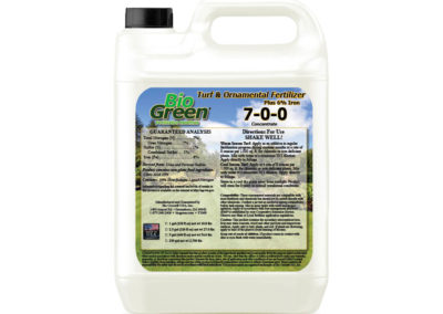 Bio Green®  Turf and Ornamental Plus 6% Iron™ 7-0-0 Fertilizer